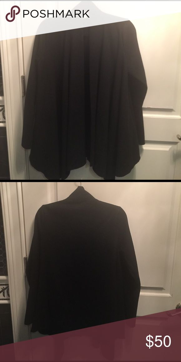 Urban outfitters wool overcoat. Wool over coat from Urban Outtfitters. Great condition. Urban Outfitters Jackets & Coats Capes