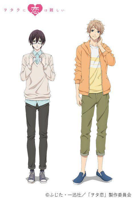 wotakoi love is hard for otaku manga