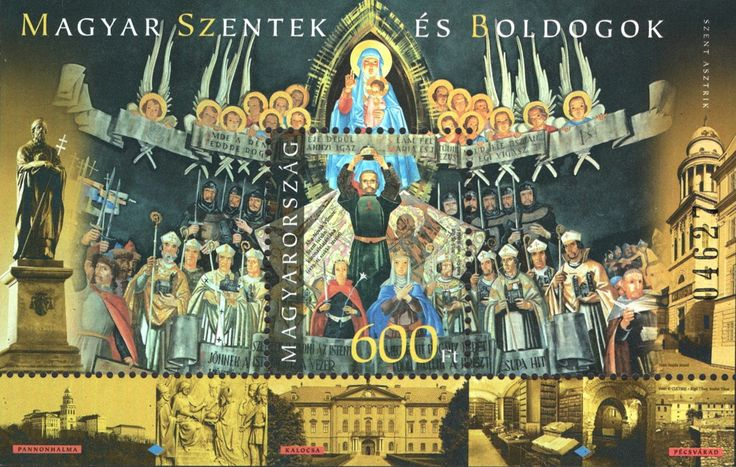 #4364a Hungary - Saints and Blesseds III - St. Astrik, Foil S/S (MNH)