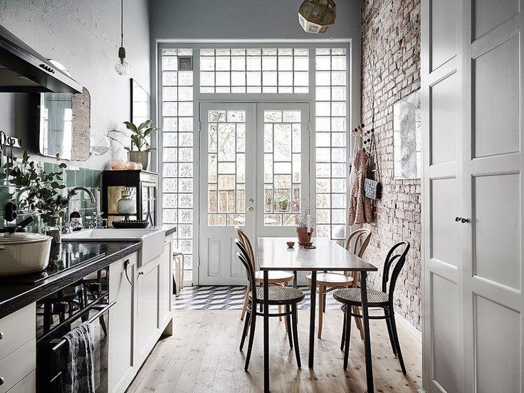 [Interior] Cocina vintage+tonalidades neutras | Decoración