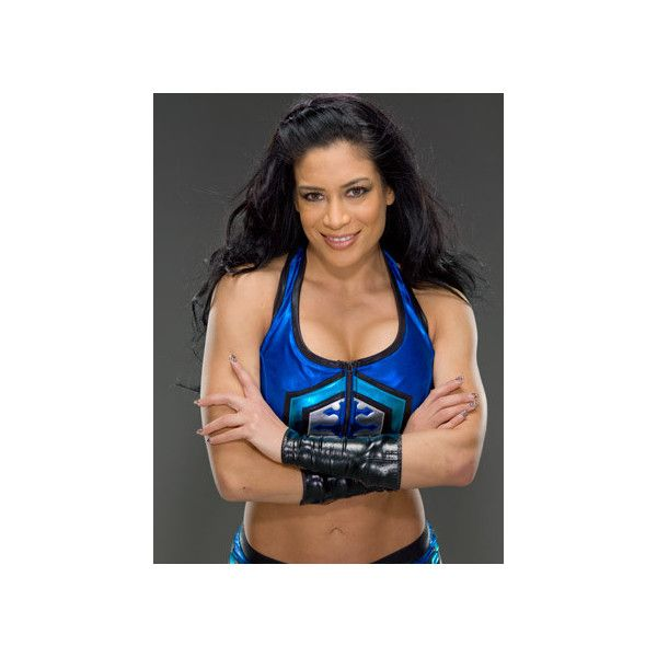 Melina WWE ❤ liked on Polyvore featuring divas