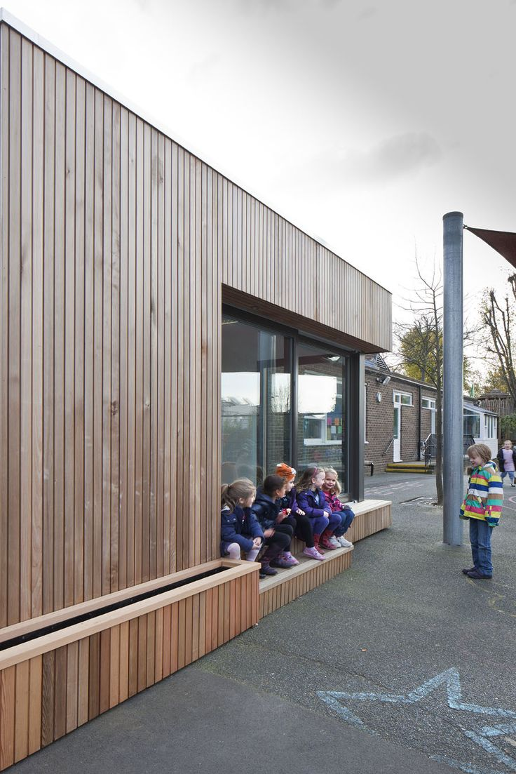 Ecospace classrooms, like this addition to Eleanor Palmer School in London, can address the urgent need for additional music or art classrooms or perhaps a science block, in a warm and bright space.