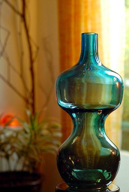 RETRO PUKEBERG SWEDEN GLASS IN FREAK HANSEN