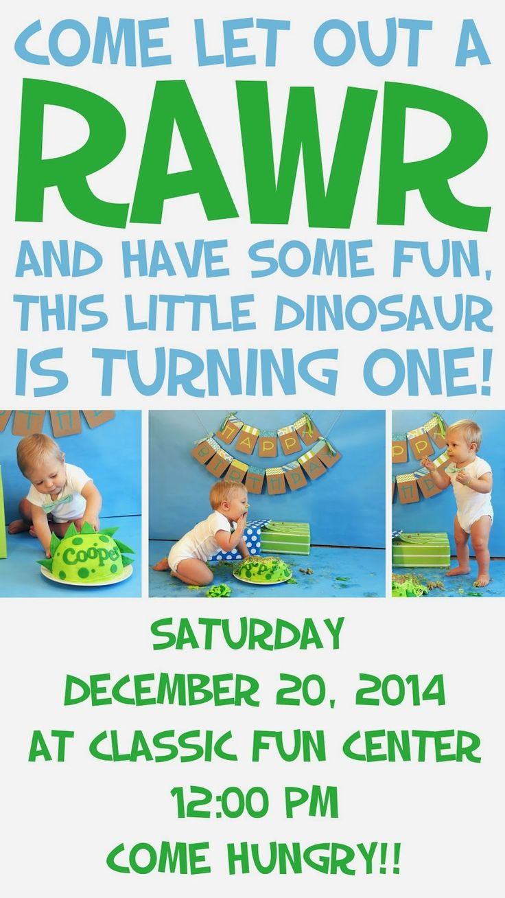 People said I was crazy but I totally support you throwing a birthday party for your one year old!! - Dinosaur Themed First Birthday Party Ideas
