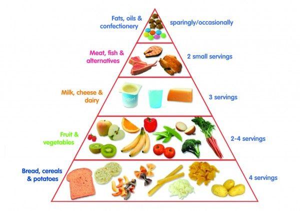 Toddler Food Pyramid - First 1000 Days