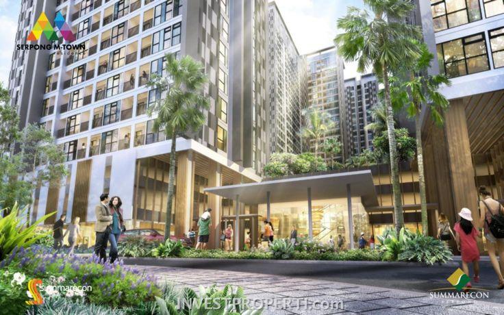 Apartemen Serpong M-Town Residence.