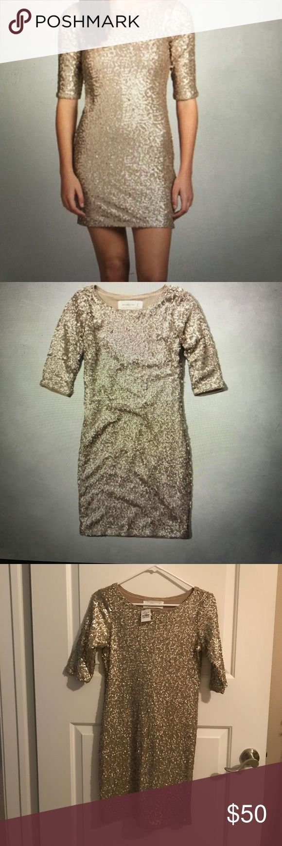 Selling this Women's Rylie Sparkling Bodycon Dress on Poshmark! My username is: fischerem. #shopmycloset #poshmark #fashion #shopping #style #forsale #Abercrombie & Fitch #Dresses & Skirts