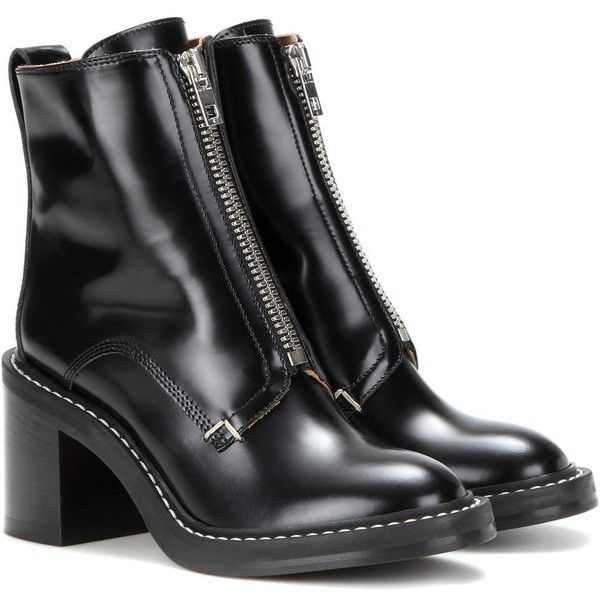 Best 25  Black leather ankle boots ideas on Pinterest | Leather ...