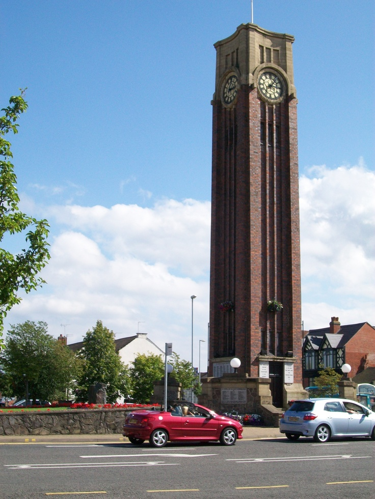 The Clock Tower Coalville,to read more about this,go to https://www.facebook.com/ScoobySammy88?ref=notif_t=friend_confirmed#!/coalville.photographed