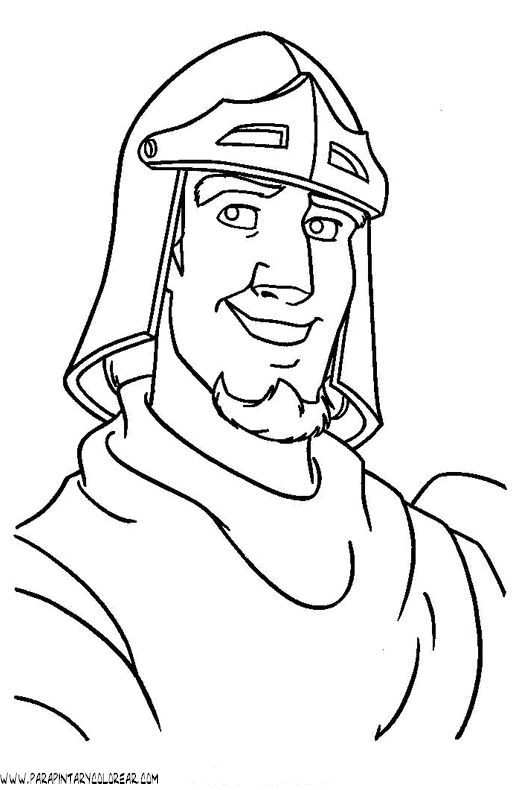hunchback coloring pages - photo#39
