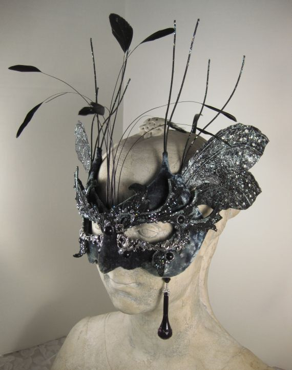 Black and silver masquerade