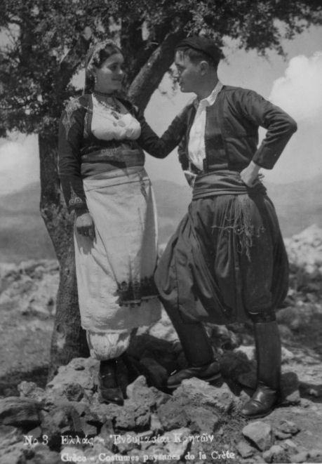 Cretan Costumes..