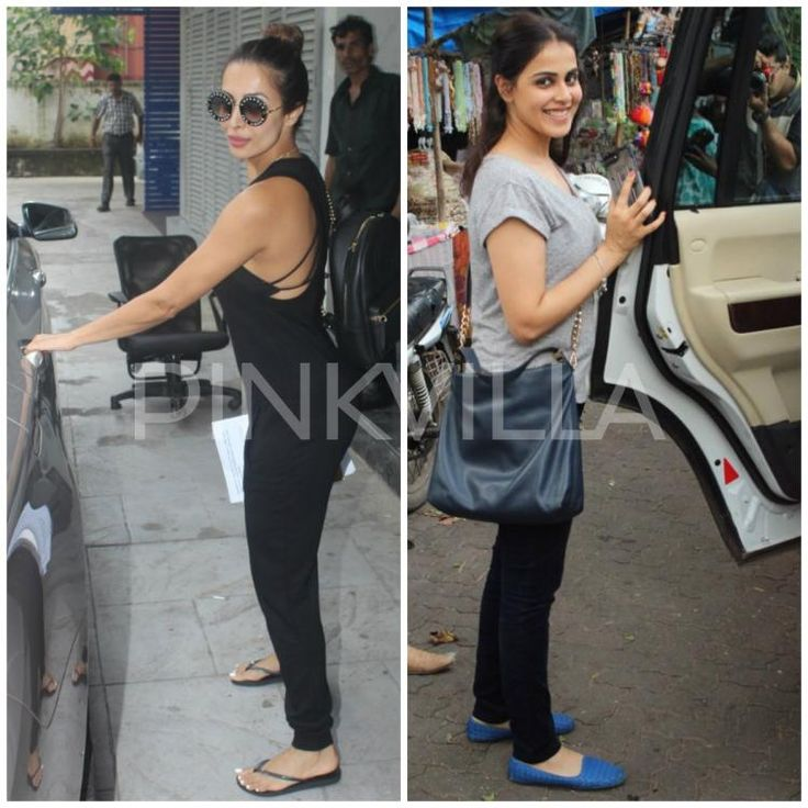 Photos: Malaika Arora and Genelia Deshmukh have a busy day in the city