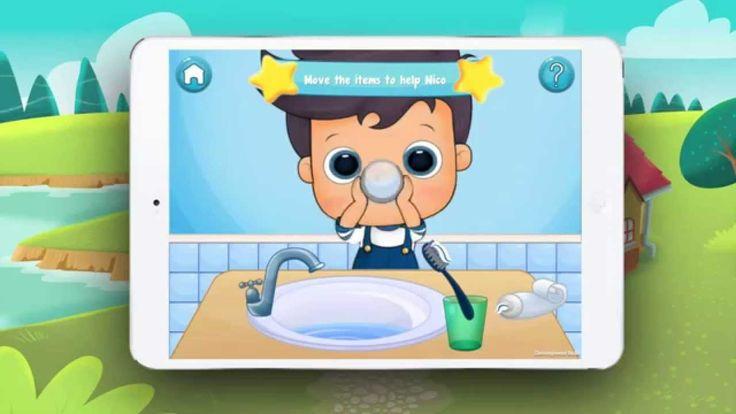 Aprende hábitos de higiene con Nico