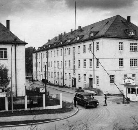 Wharton Barracks / Badenerhof Kaserne; Heilbronn, Germany