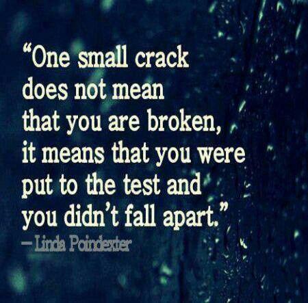 Not broken:
