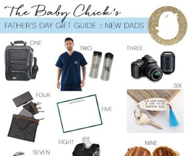 It's their first Father's Day, but what do you get them as a gift to honor this big milestone?! Here's my gift guide for the NEW Dad.