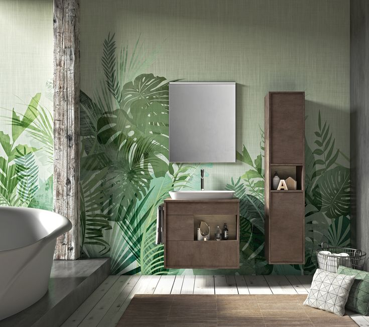 The Lume Collection at Alternative Bathrooms is a collection of modular components, from vanities and basins to shelving and mirrors.   They work in multiple different combinations and come in a wide variety of colours and materials.  These include both wood tone lacquers and richly coloured timbers, giving a natural finish that sits beautifully in contemporary bathrooms.   Timber options include several shades of Oak, as well as Ash, Walnut and Pine.