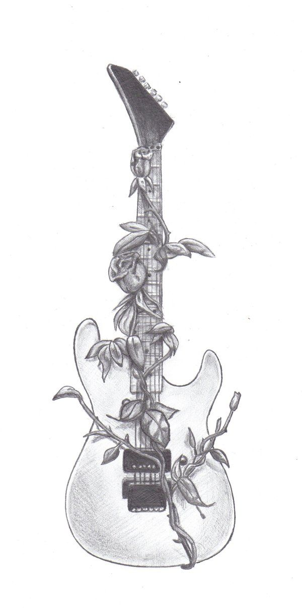 tattoo guitar rock - Buscar con Google