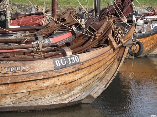 Botter ships in #Naarden. #gooisemeren