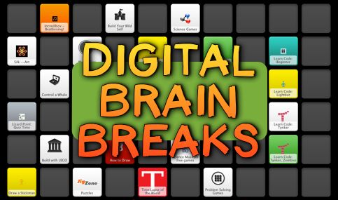 Digital Brain Breaks! Trust me, your students will love you!  Coding, Art, Music, Science, and more