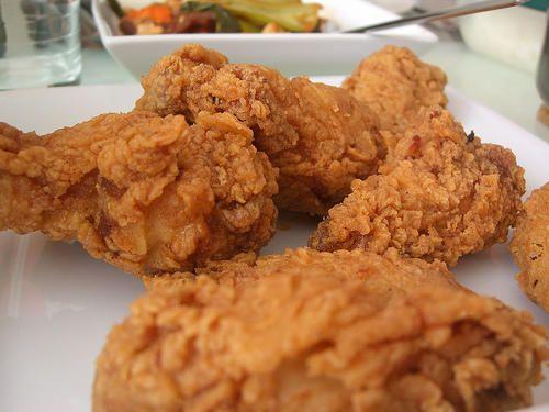 Ingredients    10 x Chicken Drummers or 4 Chicken Breasts  1 x Tub Chicken Bovril Paste  1 x Egg  1 x Clove of Garlic crushed (opti...