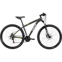 Bicicleta Mountain Bike Caloi 21 Marchas Aro 29 Suspensão Dianteira Freio a Disco Caloi 29 2016