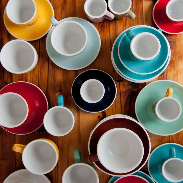 Egg 150ml Flat White Cup & Saucer | LOVERAMICS