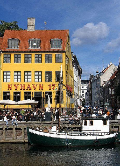 Copenhagen, Nyhavn, Denmark