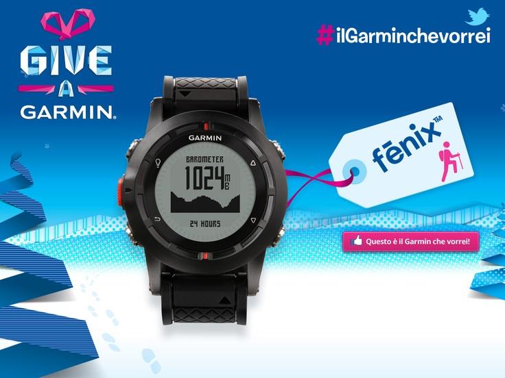 fēnix  Il GPS watch che detta nuove regole.  #ilgarminchevorrei