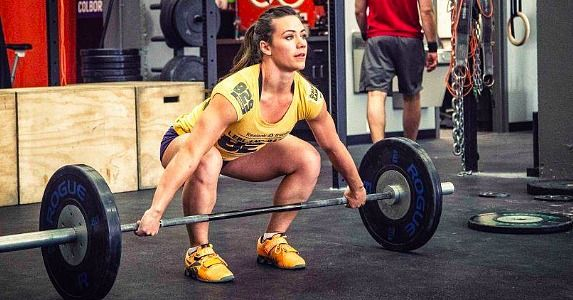 """Today we salute: Camille Leblanc-Bazinet, the winner of the 2014 Reebok CrossFit Games and the title holder of the """"Fittest Woman on Earth."""" Camille overcame self-destructive body images and revamped her lifestyle. """"I only want to be fitter, stronger, faster, and healthier, and that's given me tons of confidence."""" Cheers to valuing strength and health! Be your best self -- No excuses! #katoenterprisesllc #inspiration #noexcuses"""