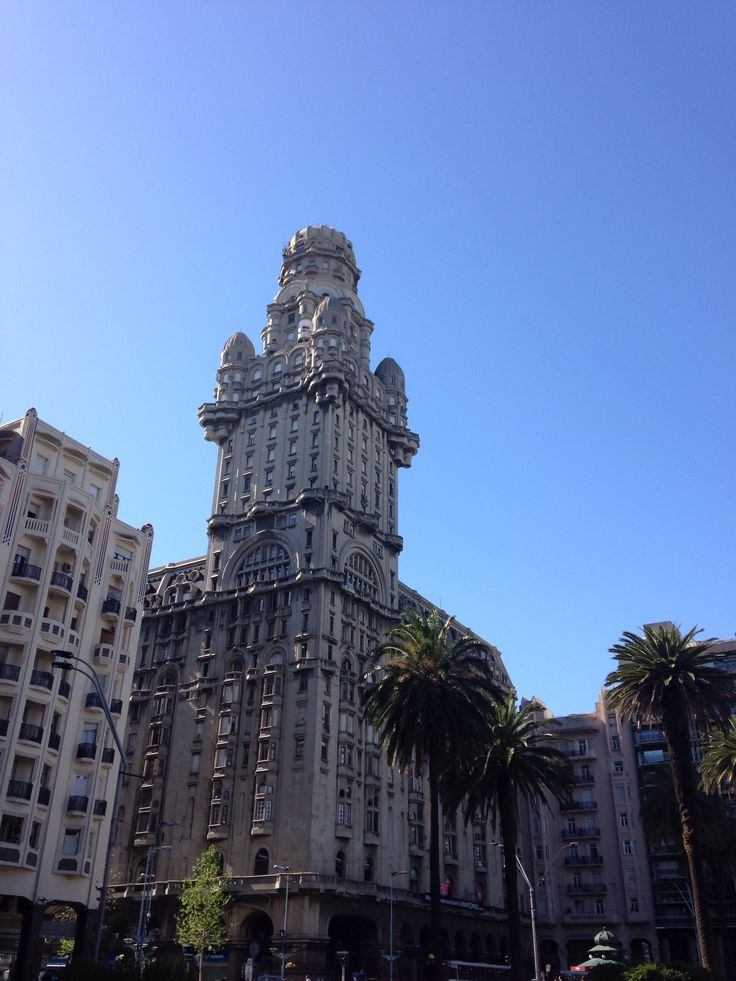 Mágica la ciudad vieja de Montevideo