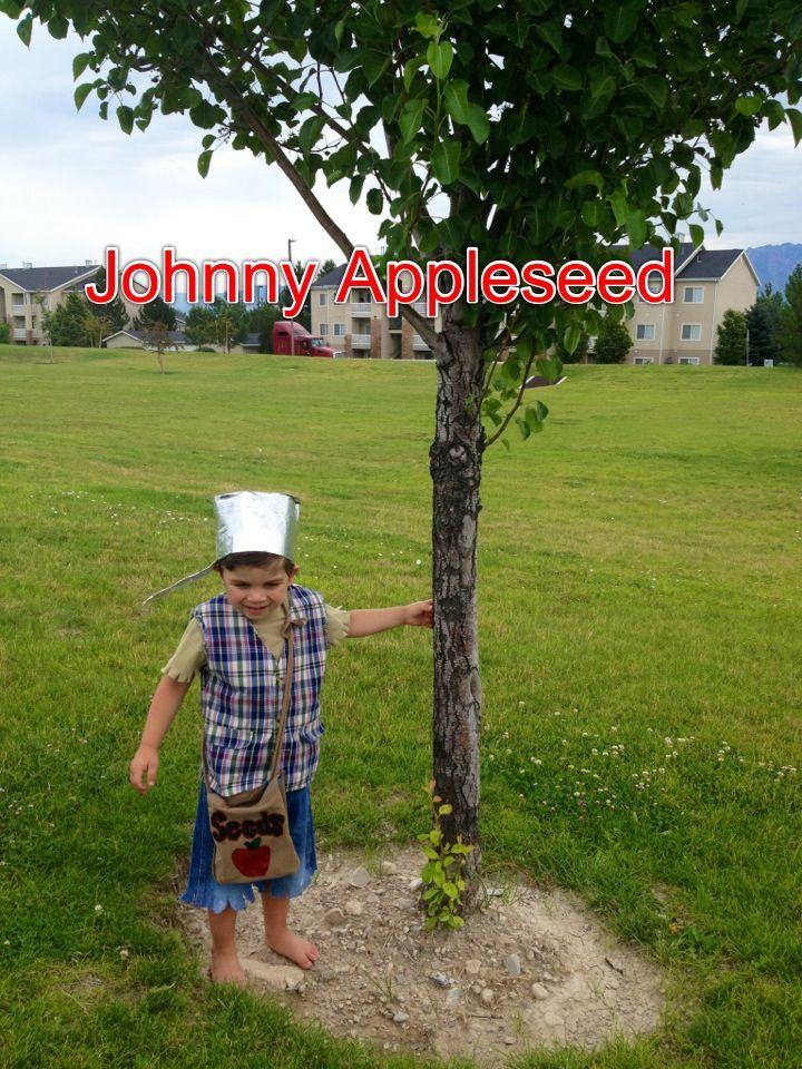 DIY Johnny Appleseed costume