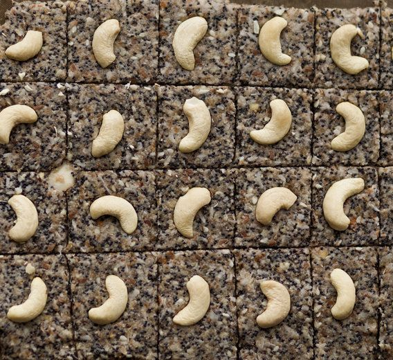 """Weird but true: Cashew nuts grow from the bottom of """"cashew apples."""" The apple portion is from the bottom of a technicolored Brazilian fruit."""