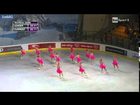 Team Paradise (RUS 1) SP Synchro Worlds 2014