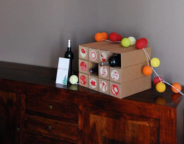 Calendrier de l'Avent par Vineabox #vin #ideecadeau #gastronomie