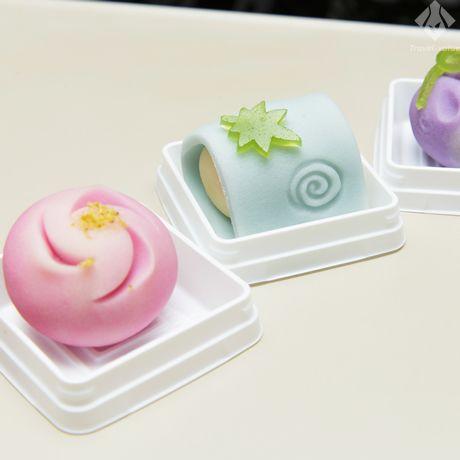 1625年創業の金沢の和菓子店「森八本店」で購入した「季節の上生菓子」。 #石川 #金沢 #森八 #生菓子 #和菓子