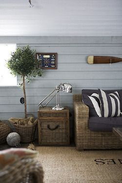 For the fireplace room? nautical