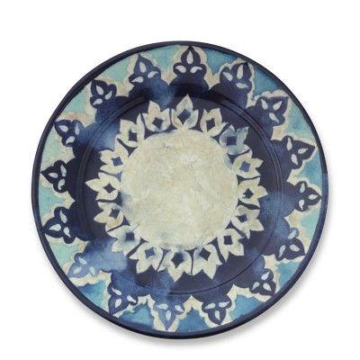 Blue Byzantine Dinner Plates, Set of 4 #WilliamsSonoma