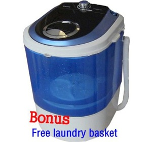 Apartment washer and dryer now is looking and suitable for people who live in a small place and have not too big of room. Panda Portable Washer can be an alternative of option for a washing machine.
