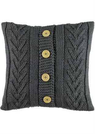 Cable Knit Cushion. I cannot express the love I have for these, but the guilt I'd have buying them when I can knit.