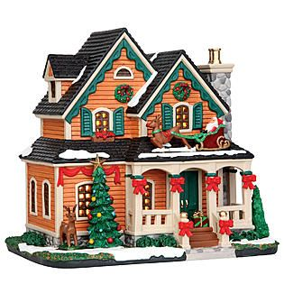 Added to my collection this year. Coventry Cove by Lemax -Christmas Village Building, Christmas Cottage.
