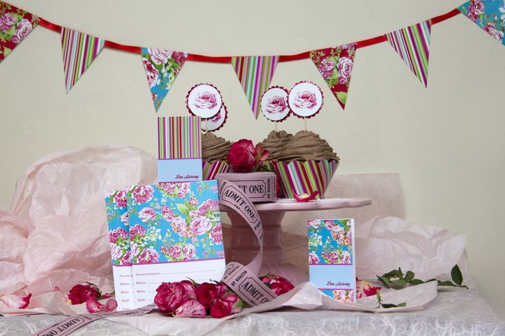 Lou Harvey party - so girly and gorgeous. www.hellopretty.co.za