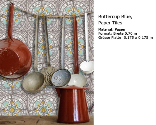 Hurter Designers Tapeten : Wallpaper in the kitchen? Hmmmm Making our house a home… Pinter
