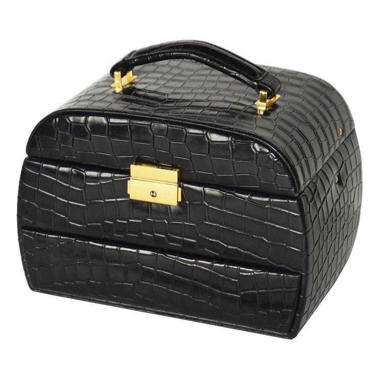 leatherette jewelry box jewelry boxes pinterest key