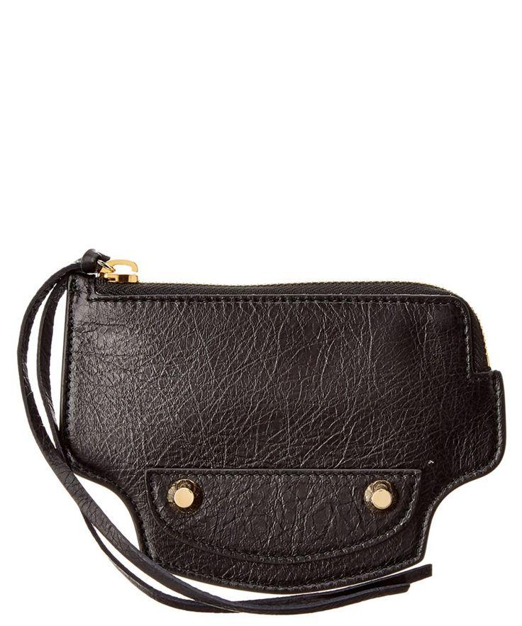 BALENCIAGA Balenciaga Fringe Leather Wallet'. #balenciaga #wallets
