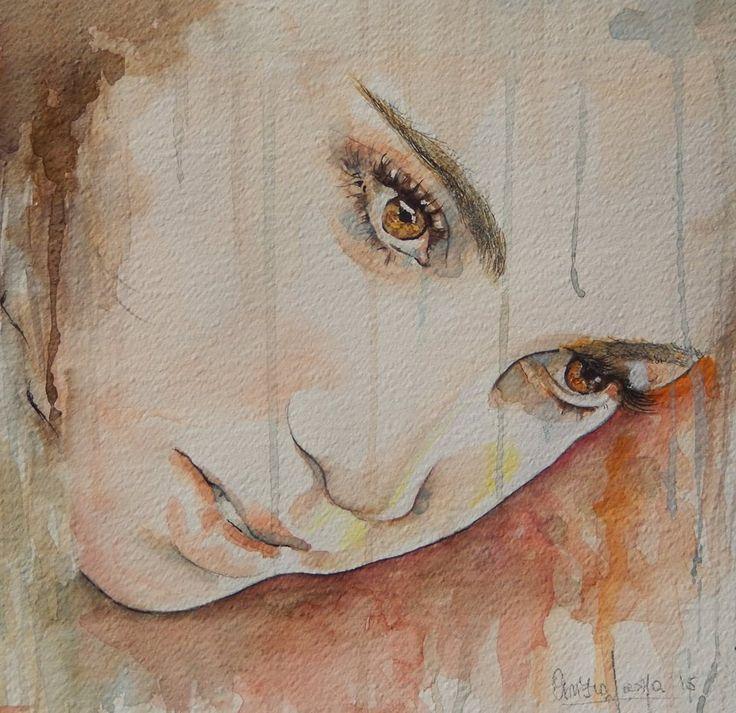 watercolor by Cinzia Scarpa