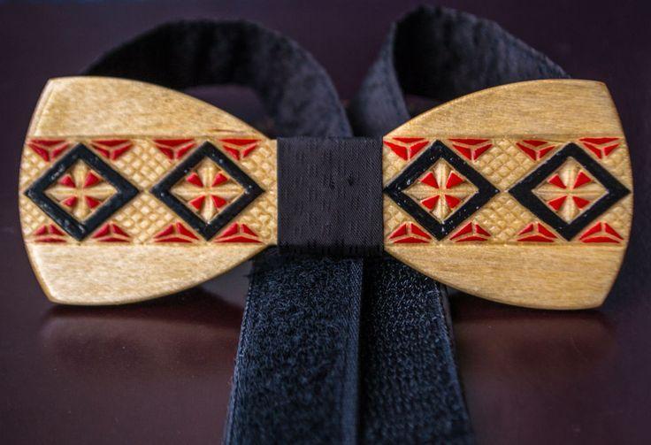 Amazing Wooden Bow Tie 100% Handmade With Prints ( Likes Ralph Lauren ) #Handmade #BowTie