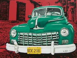 Cuban Veridian (ART ID# 6850) by Koos De Wet