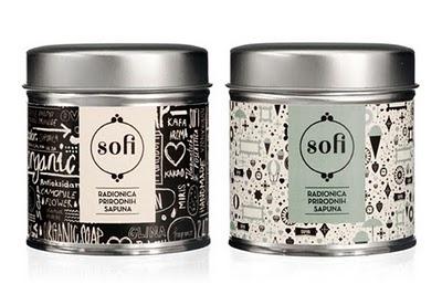 organic, handmade soaps. sofi.